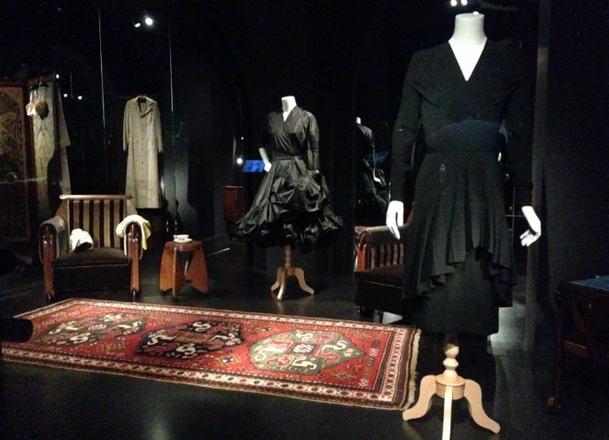 De garderobe van mevrouw B. in Rijksmuseum Amsterdam
