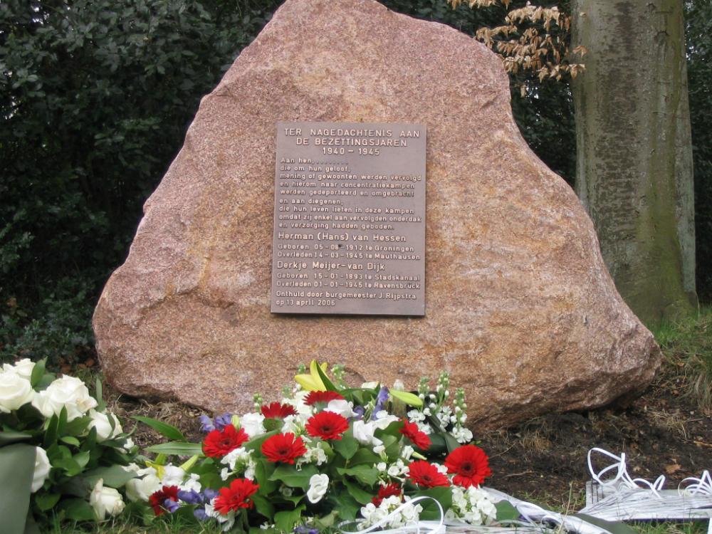 monument Paterswolde Herman van Hessen
