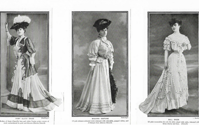 Drecoll fashion 1905