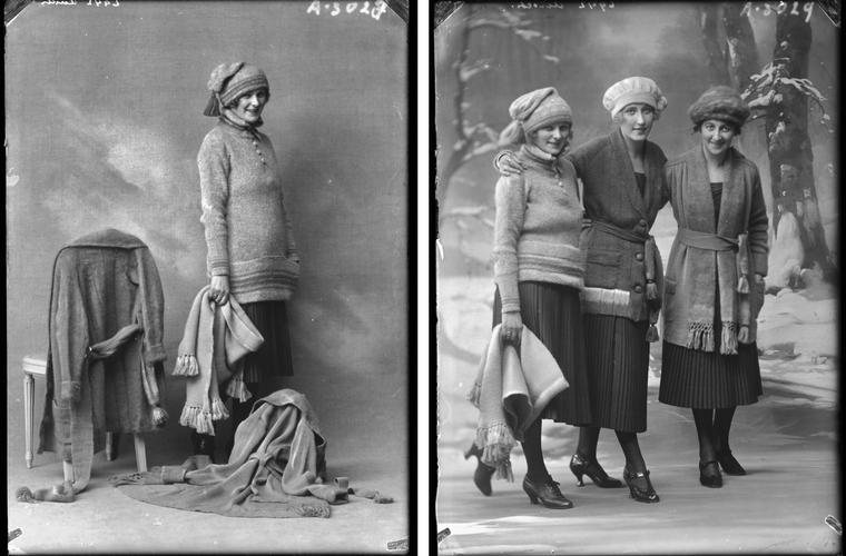 Wintermode 1920 bij Hirsch & Cie Amsterdam