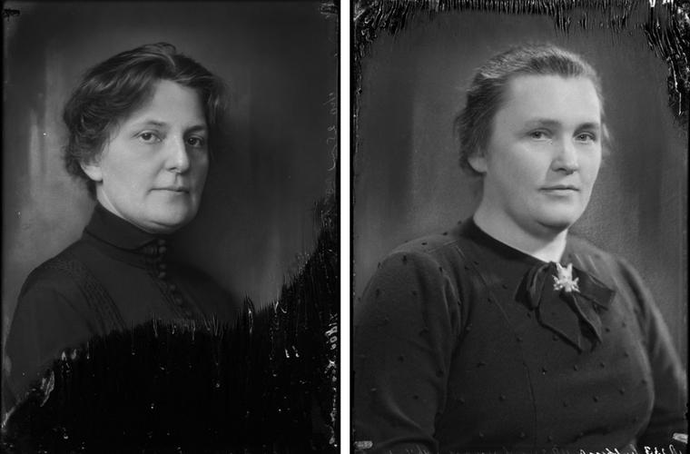 Monica Lina en Anna Catharina Lubbert
