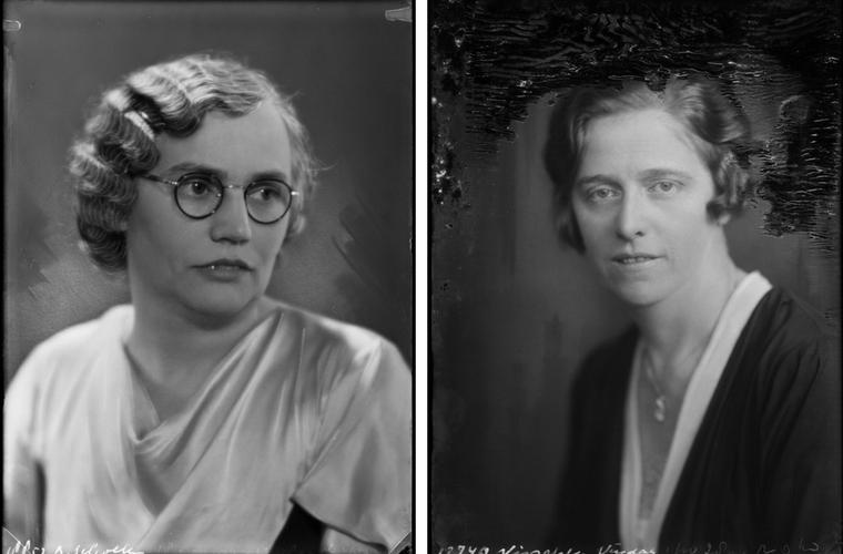 Rensina Scholten en Hermina Visscher