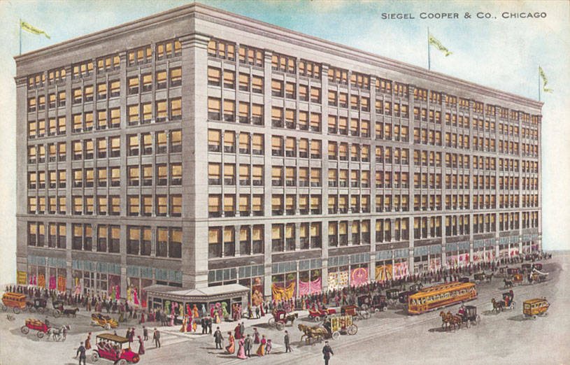 Siegel-Cooper department store Chicago