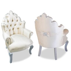 White Tufted Chair Patio Chairs With Cushions Velvet Hollywood Regency Haute House Home