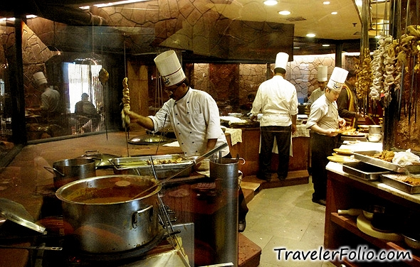 AwardWinning Bukhara Restaurant of ITC Maurya Hotel in