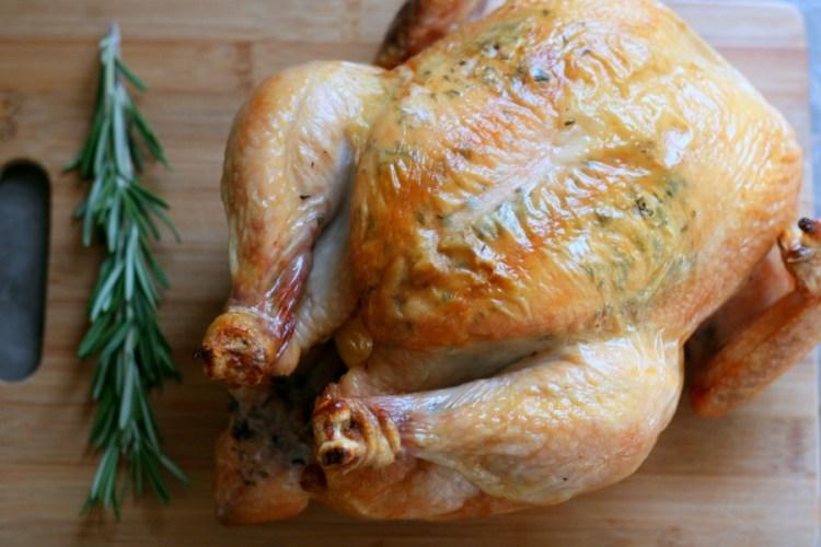 Rosemary-Lemon Roasted Chicken