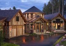 Modern Rustic Mountain Homes Exterior