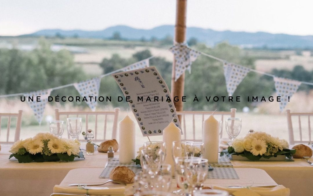 Custom French Wedding Decorations