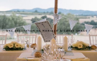 Custom French Wedding Decorations