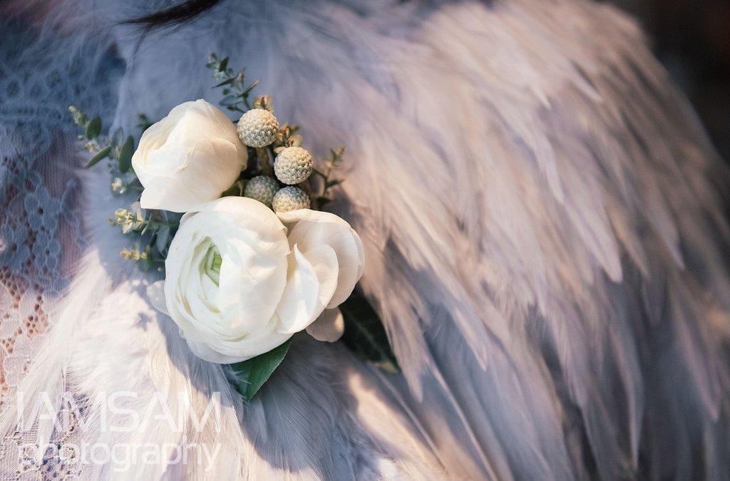 Our Favorite Bridal Shawls