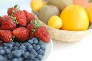 gesunde Ernährung für straffe Haut