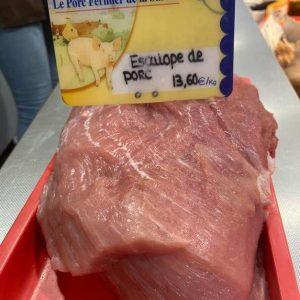 escalope de porc