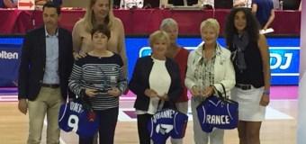 Martine NONNON mise à l'honneur lors de l'Open de la LFB