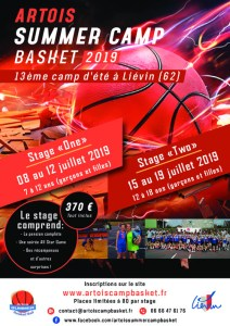 Artois Summer Basket Camp 2019 | U18 @ Liévin