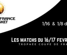Trophée Coupe de France Seniors : 1/16 et 1/8 à Armentières et Bruay-la-Buissière