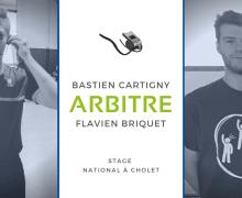 Flavien Briquet et Bastien Cartigny retenus pour le Stage d'accession à la NM1