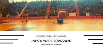 JAPS : Revalidation des entraîneurs pour la saison 2019/2020