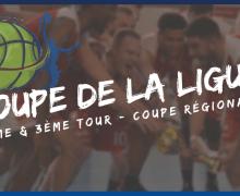 Tirage du 2ème et 3ème tour de la Coupe de la Ligue (coupe régionale)