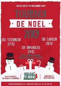 Trounoi de Noël U9/U11/U13 @ Saint-Nicolas-Lez-Arras