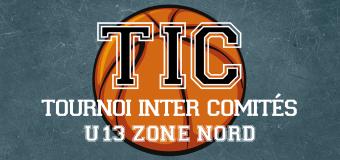 Le TIC U13 de la Zone NORD, du 3 au 5 janvier à Rouen.