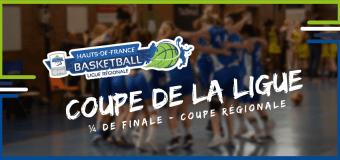 Coupe Régionale : Tirage des ¼ de finale