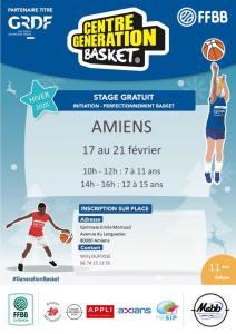 Centre Génération Basket - MABB @ Amiens