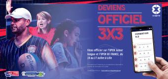 Arbitre/OTM : Officiez sur l'OPEN DE FRANCE, cet été, à Lille