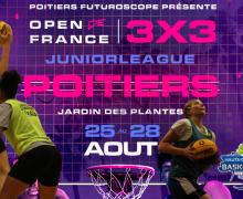 OPEN Plus régional 3×3 : les qualifiés pour l'Open de France JuniorLeague (U18)