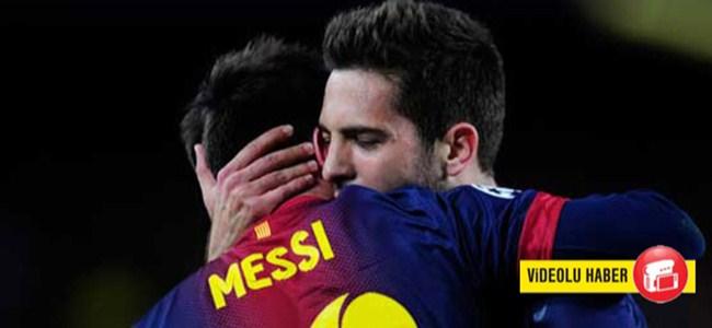 Barcelona Milan'ı dağıttı!