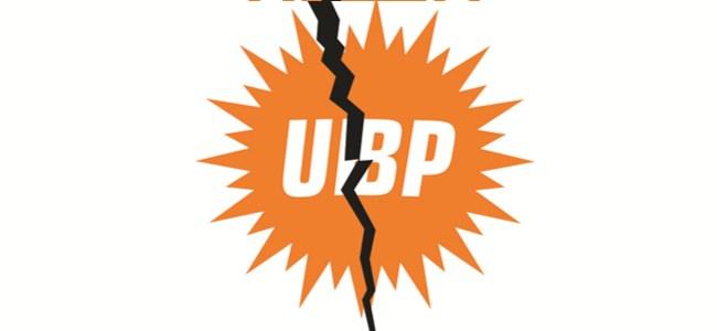 UBP'de istifa depremi