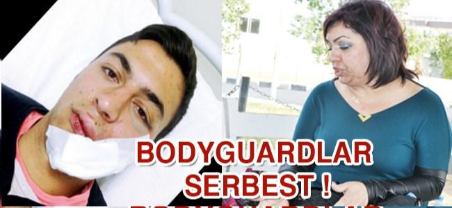 Bodyguardlar serbest