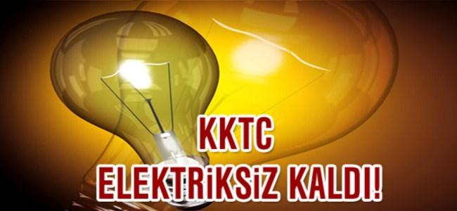 KKTC Elektriksiz Kaldı!