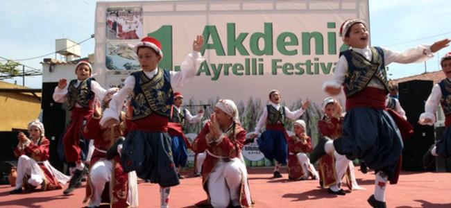 1. Akdeniz Ayrelli Festivali Yapılıyor