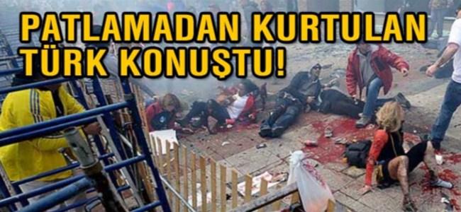 Boston'daki patlamadan kurtulan Türk konuştu!