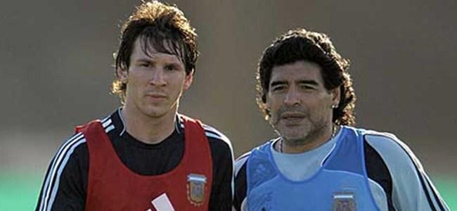 25 Yaşında Maradona'yı Yakaladı
