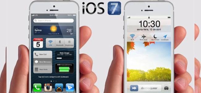 iOS 7'nin Ayak Sesleri Duyuldu