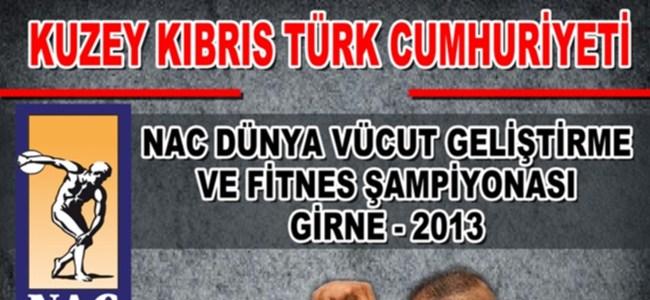 Dünya Vücut Geliştirme ve Fitnes Şampiyonası KKTC'de Yapılıyor