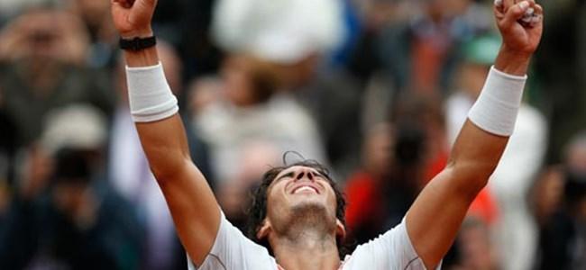 Fransa Açık'ın kralı Nadal