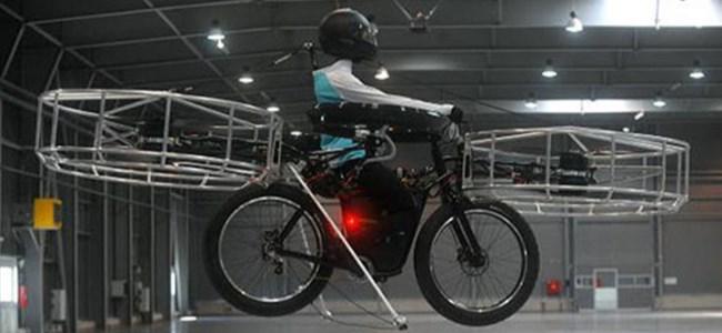 Uçan Bisiklet Gerçek Oldu!