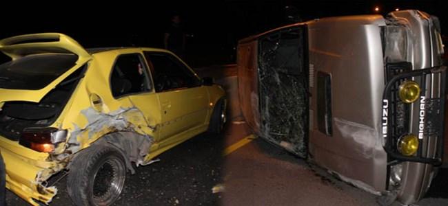 Mağusa'da Korkutan Kaza