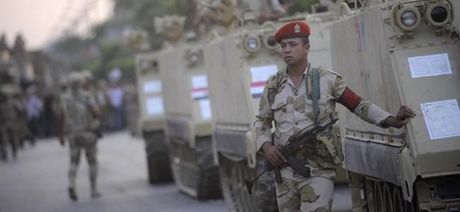 Mısır'da askeri darbe
