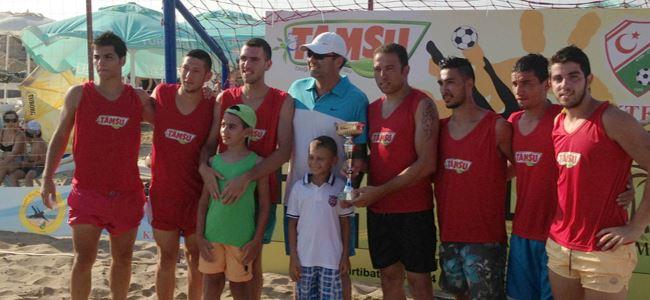 Kumda şampiyonlar belli oldu