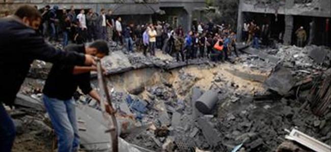 İsrail füzeleri 15 Filistinlinin yaşamına mal oldu
