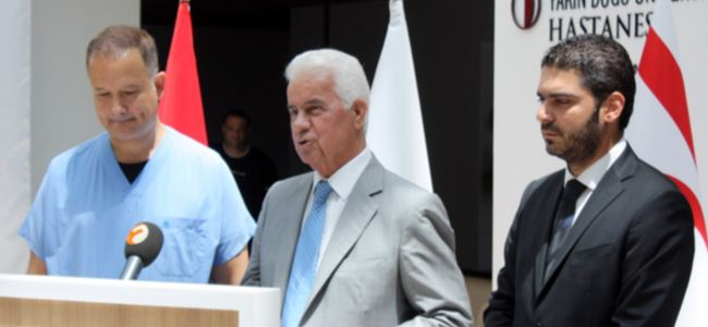 Eroğlu: Tatar'ın durumu gayet mükemmel!