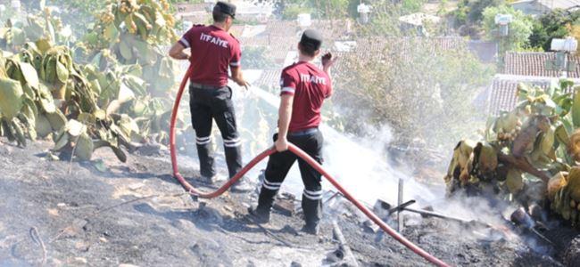 Lefke Anten Tepe'de yangın