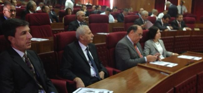 UBP ikinci toplantıda Meclis'i boykot etti