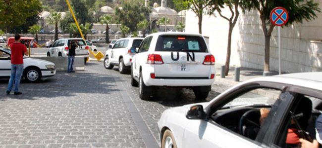 BM konvoyuna ateş açıldı