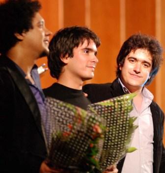 Aldo, Harold and drummer Luis Adrian