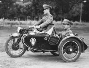 moto met zijspan, sidecar