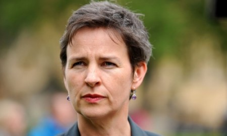 Mary Creagh, chair of the environmental audit select committee: 'The overwhelming evidence is that EU membership has improved the UK's approach to the environment.' Photograph: Lauren Hurley/PA
